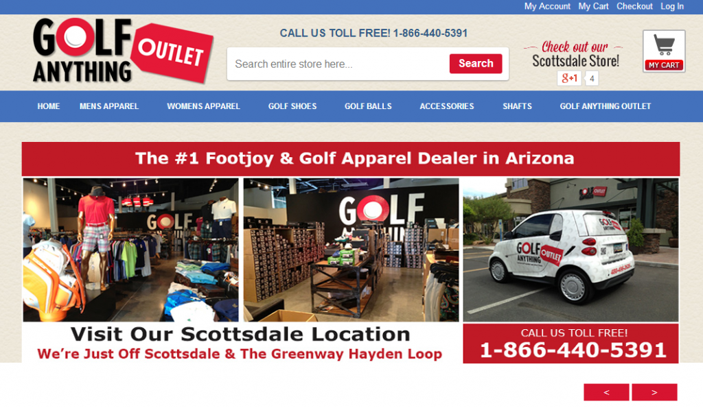 Discount Golf Apparel  Shoes   Shafts