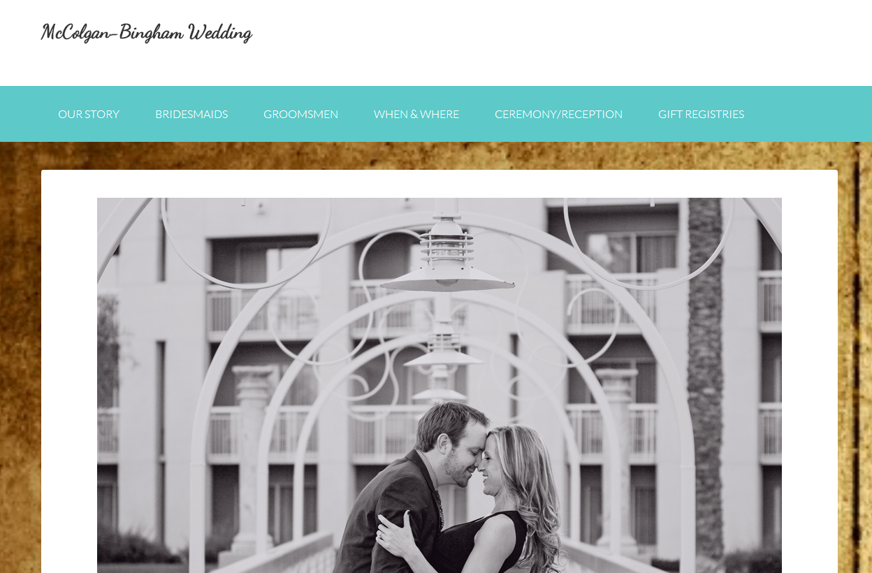 McColgan Bingham Wedding –